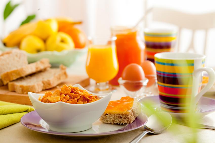 Пища утро